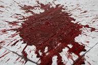 blood sidewalk